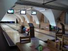 Nepřevázka: třídráhový bowling